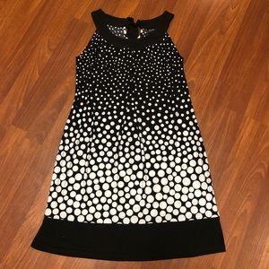 Enfocus Studio Black and White Dress